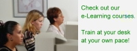 Check out our e-Learning courses. Train at your desk at your own pace with our online testing courses.